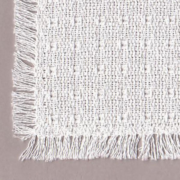 White Homespun Tablecloths Placemats Napkins Runners